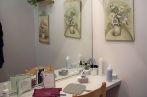 Private booth for Hair Piece and Wig consultations